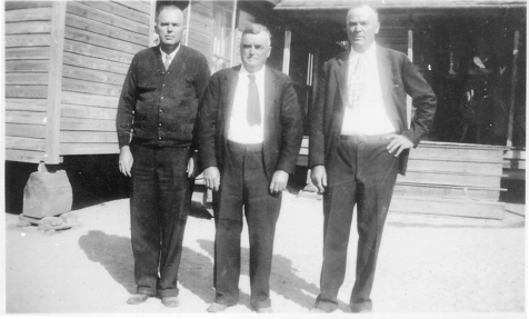 Three Knight brothers, left to right: Rossie O. Knight, Marion Mansfield Knight, and Leland Thomas Knight. Image courtesy of Bryan Shaw and the Berrien Historical Foundation www.berriencountyga.com
