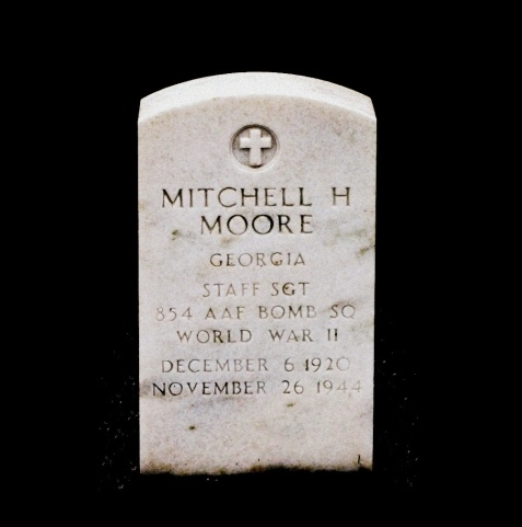 Grave of Mitchell Haygood Moore, Union Church Cemetery, Lanier County, GA