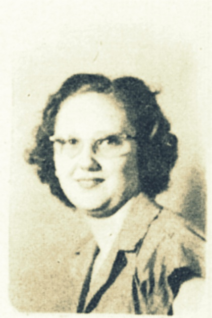 Helen Wood, 1948, Ray City High School