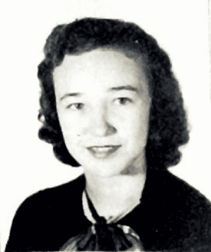 Betty Jo Cook, 1949, Ray City High School