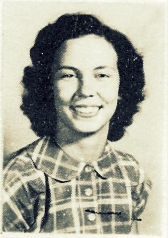 Lullene Rouse, 1950, Ray City School