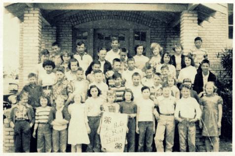 Ray City School 4-H Club, 1952-53