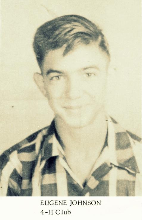 Eugene Johnson, Ray City High School class of 1953