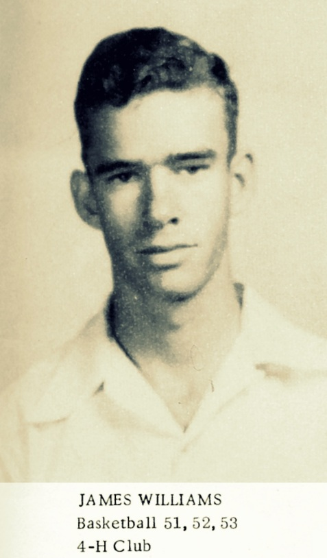 James Williams, Ray City High School class of 1953