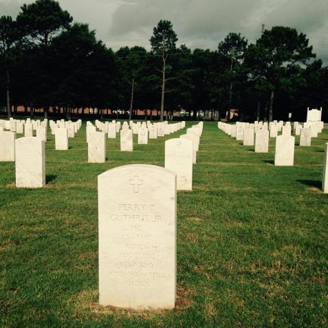 Grave of Perry Thomas Guthrie, Jr. Barrancas National Cemetery, Pensacola, FL