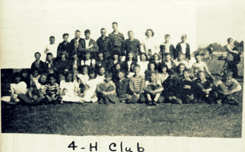 4-H Club, Ray City School, 1948-49