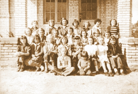 4-H Girls, Ray City School, 1950-51