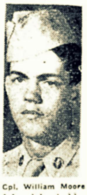 Cpl William Moore, of Ray City, GA