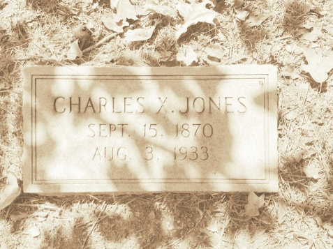 Grave of Charles X. Jones (1870-1933), First Elected Mayor of Ray City, GA
