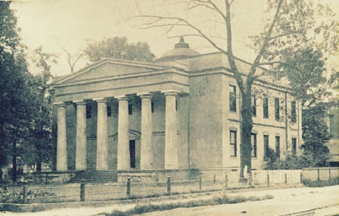 Old Medical College of Georgia, Augusta, GA. Charles X. Jones graduated with a medical degree in 1898.