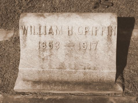 Grave of William Hamilton Griffin, Sunset Hill Cemetery