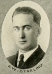 A. W. Starling, of Nashville, GA. 1922, sophomore cadet at North Georgia College.