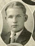William Lamar Parham, of Nashville, GA. 1925, freshman cadet at North Georgia College.