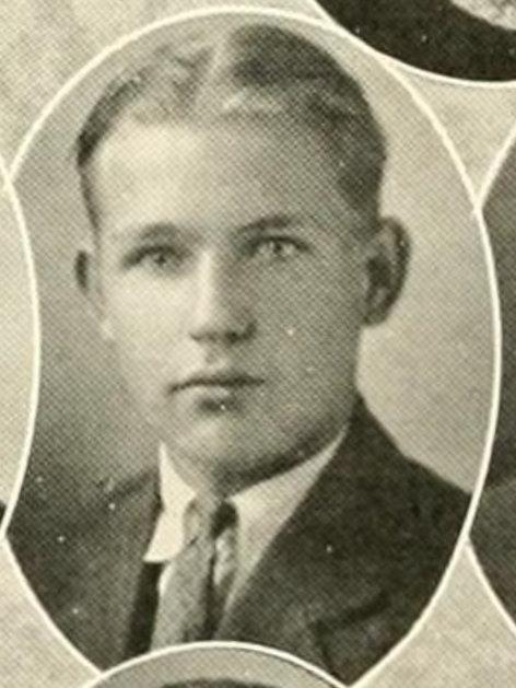 William Lamar Parham, of Nashville, GA. 1925, freshman cadet at North Georgia College.