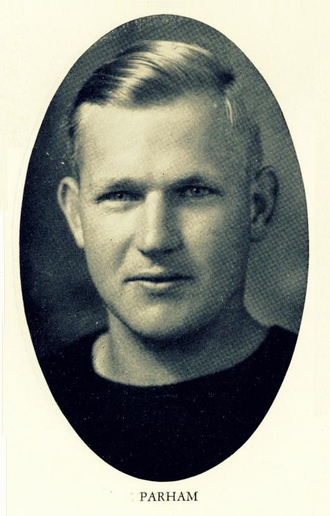 William Lamar Parham, of Berrien County, GA. West Point Class of 1931.