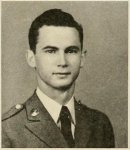 John David Luke, 1940 sophomore cadet, North Georgia College. In WWII served in the U.S. Army Air Corp, P-40 Pilot Instructor, Luke Field, Arizona.