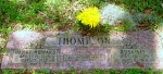 Graves of Henry Howard Thompson (1898-1982) and Rosa Lee Drawdy Thompson (1900-1986).