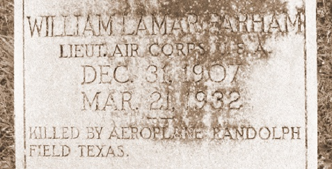 Grave of William Lamar Parham (1907-1932), Nashville, GA