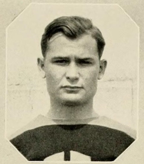 Shelby Jackson Morris, of Nashville, GA. 1930, freshman cadet at North Georgia College and tackle on the NGC football team.