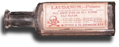 Laudanum bottle