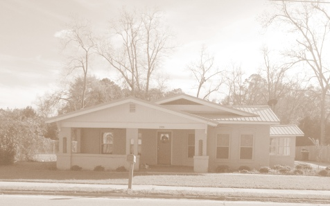 Home of George Washington Wood and Fannie Lou Taylor Wood, Main Street, Ray City, GA