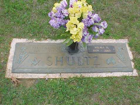 Grave of Wilma Harper Shultz, Baldwin Memorial Gardens, Milledgeville, GA. Image source: Jack Johnson