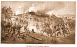 Depiction of the Confederate assault on Fort Sanders, November 29, 1863