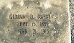 Grave of Gideon D. Gaskins, Willacoochee City Cemetery, Willacoochee, GA. Image source: Barbara L. Kirkland