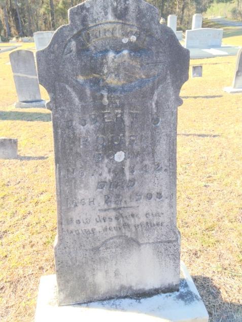 Grave of Robert O. Rouse, Empire Cemetery, Lanier County, GA