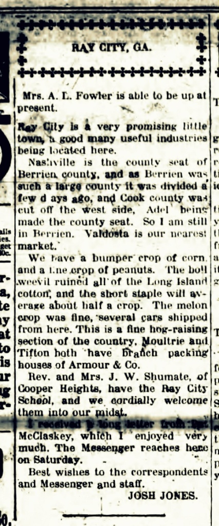 Walker County Messenger, August 23, 1918