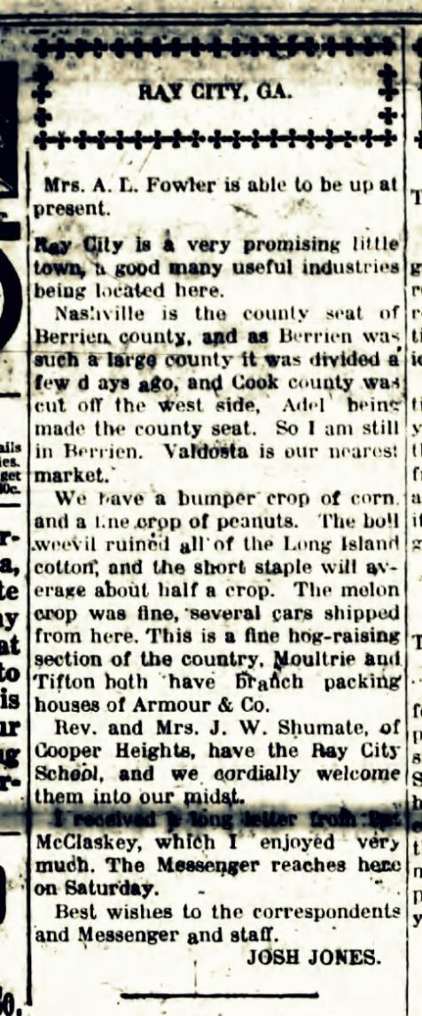 Walker County Messenger, August 23, 1918