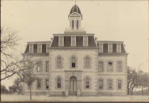 Cherokee Junior College, Cherokee, TX. John C. Sirmons served as principal of the preparatory program in 1913 and later was president of the institution.