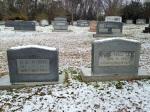 Graves of Hazel Hall Cox and Reid Hearn Cox, Decatur Cemetery, Decatur, GA.