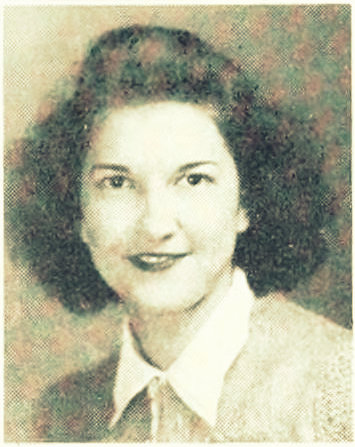 Helen Baskin, 1941, at Georgia Teachers College.