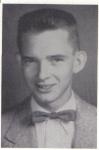 Glen Putnal, 1954 senior photo, Ray City School, Ray City, GA