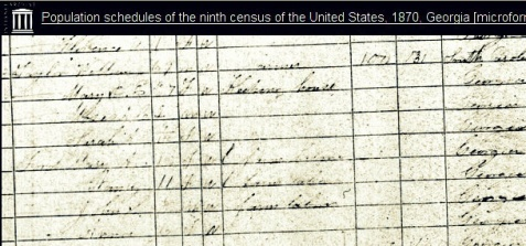 1870 Census enumeration of William J. Taylor and Mary P E Musselwhite Taylor in Berrien County, GA https://archive.org/stream/populationschedu0135unit#page/n501/mode/1up