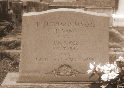 Grave of Harry Elmore DeVane, Pleasant Cemetery, near Ray City, GA