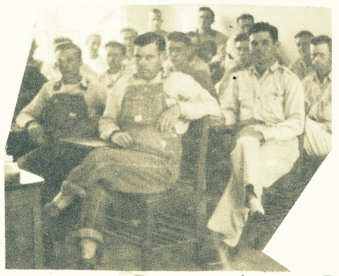WWII Veterans at Ray City School, 1948-1949.