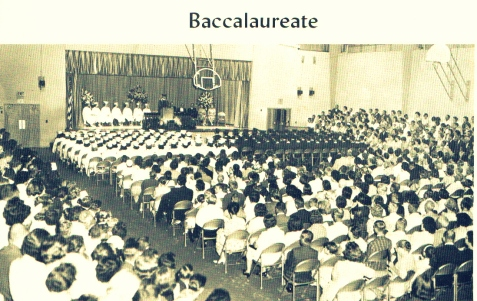 1965 BCHS Baccalaureate Sermon. Image courtesy of www.berriencountyga.com