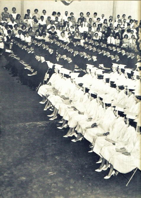 Berrien County High School Class of 1965. Image courtesy of www.berriencountyga.com