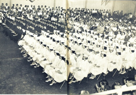 Berrien County High School Class of 1965. Image courtesy of www.berriencountyga.com
