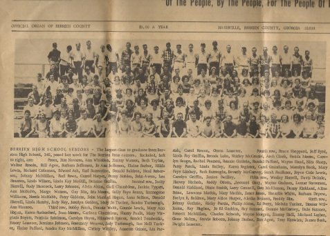 Berrien County High School Class of 1965