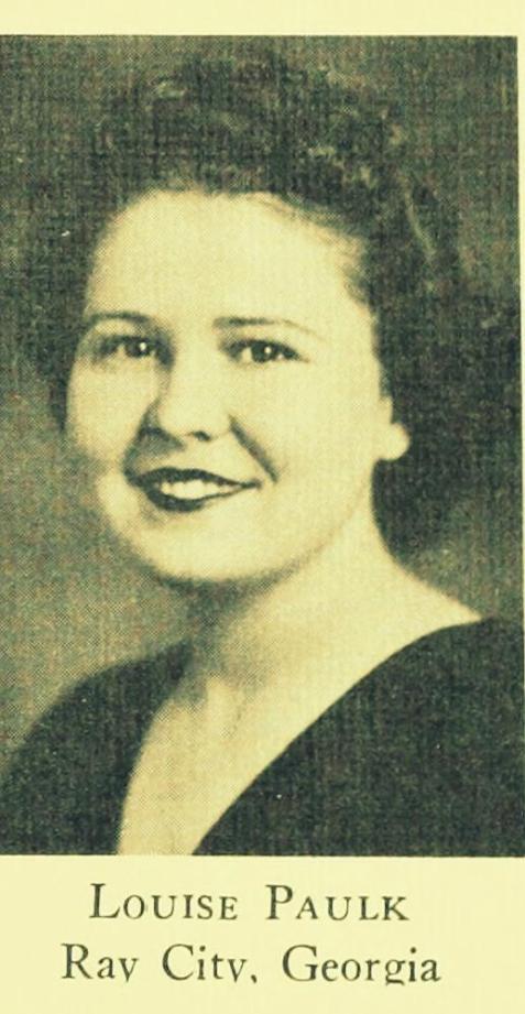 Louise Paulk, 1939, GSWC