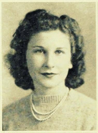 Marian Hambrick, 1941, Freshman