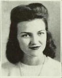 Carolyn DeVane, 1945, Freshman