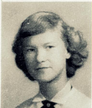 Frances Cornelius, 1952-53 sophomore at Ray City School