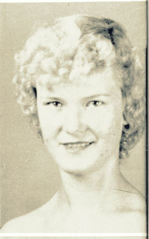 "Frances ""Frankie"" Cornelius, Senior, Class of 1955, Berrien High School, Nashville, GA"