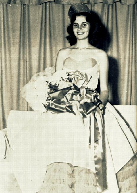 1954 Miss Berrien High School, Sue Nix