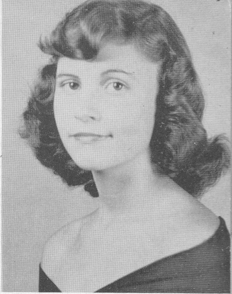 Sue Nix, 1955 Senior, Berrien High School, Nashville, GA