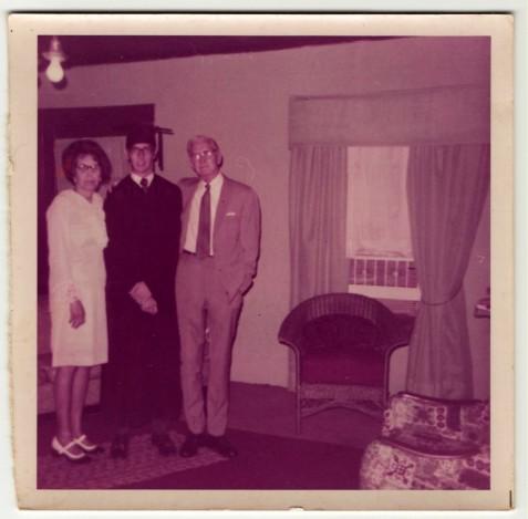June 8, 1970 Madge Guthrie, Johnny Guthrie, John Guthrie